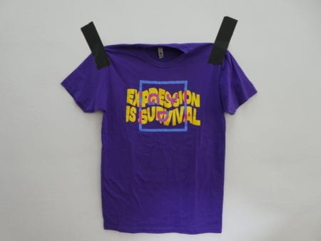 Purple_Expression_Is_Survival_Shirt